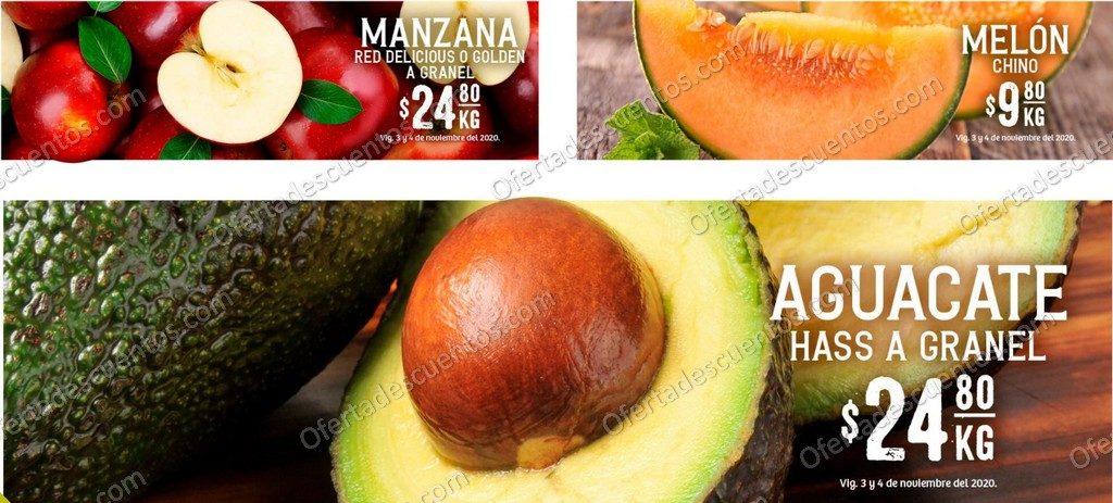 Soriana: Ofertas Frutas y Verduras 3 y 4 de Noviembre 2020