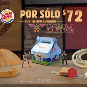 Burger King: Juguete Gratis Mujer Maravilla 1984 al Comprar Combo Niños
