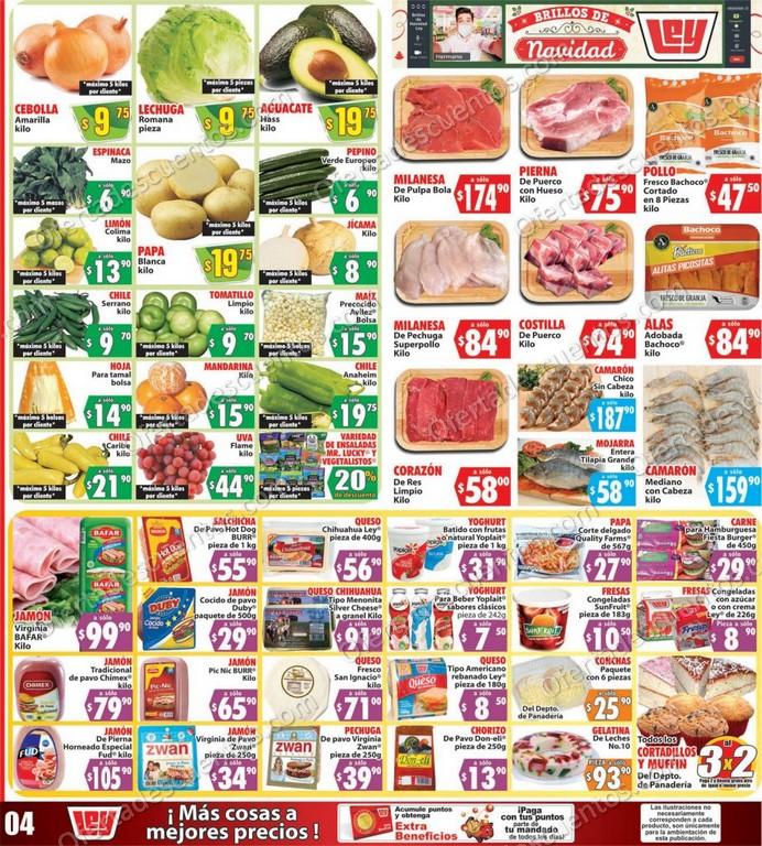 Casa Ley: Ofertas en Frutas y Verduras del 15 al 16 de Diciembre 2020