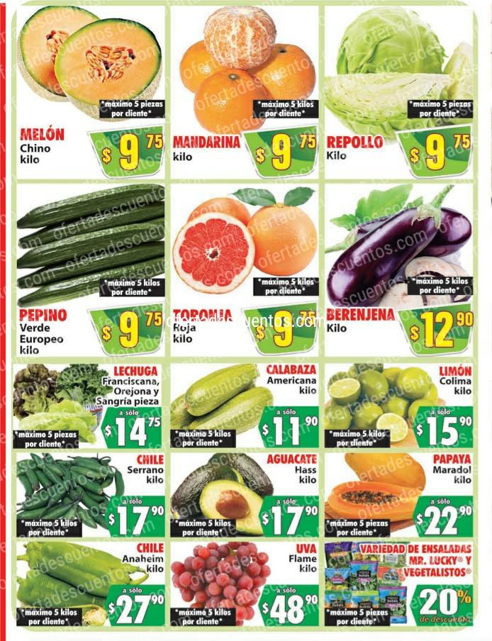 Casa Ley: Ofertas en Frutas y Verduras 1 y 2 de Diciembre 2020