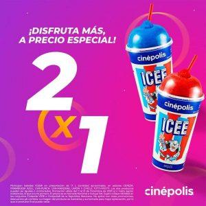 Cinepolis: 2×1 en Icee Grande