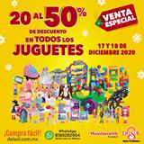 Del Sol: Ofertas Hasta 50% de Descuento en Juguetes del 17 al 18 de Diciembre 2020
