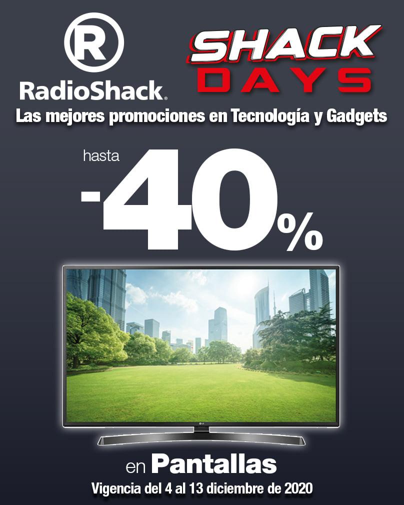 Shack Days: Descuentos en Tecnología al 13 de Diciembre 2020