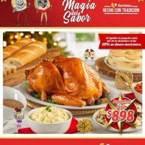 Soriana Mercado: Folleto Cenas Navideñas 2020 La Magia del Sabor