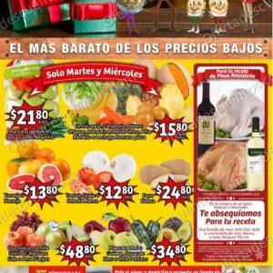 Soriana Mercado: Ofertas en Frutas y Verduras 8 y 9 de Diciembre 2020