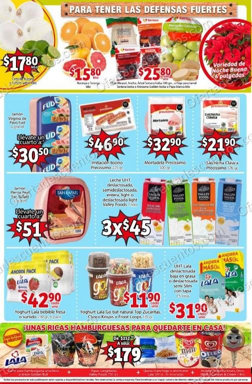 Soriana Mercado: Promociones de Fin de Semana del 4 al 7 de Diciembre 2020