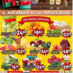 Soriana Mercado: Ofertas en Frutas y Verduras 15 y 16 de Diciembre 2020