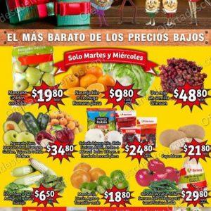 Soriana Mercado: Ofertas en Frutas y Verduras 22 y 23 de Diciembre 2020