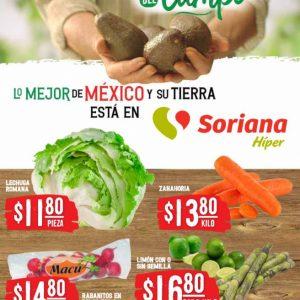 Soriana: Ofertas en Frutas y Verduras 22 y 23 de Diciembre 2020