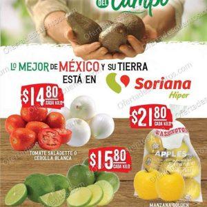Soriana: Ofertas en Frutas y Verduras 8 y 9 de Diciembre 2020
