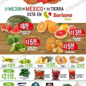 Soriana Super: Ofertas en Frutas y Verduras 15 y 16 de Diciembre 2020
