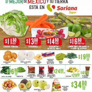 Soriana Super: Ofertas en Frutas y Verduras 22 y 23 de Diciembre 2020