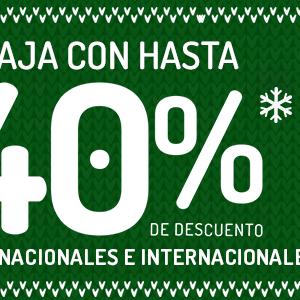 VivaAerobus: Hasta 40% De Descuento en Vuelos Nacionales e Internacionales