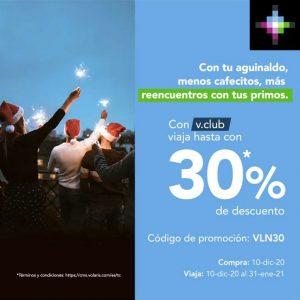 Volaris: Hasta 30% de Descuento con VClub