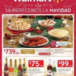 Walmart: Folleto de Ofertas Regalos y Cenas de Navidad del 15 al 31 de Diciembre 2020