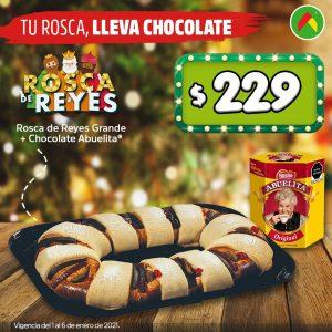 Bodega Aurrerá: Promociones en Rosca de Reyes del 1 al 6 de Enero 2021