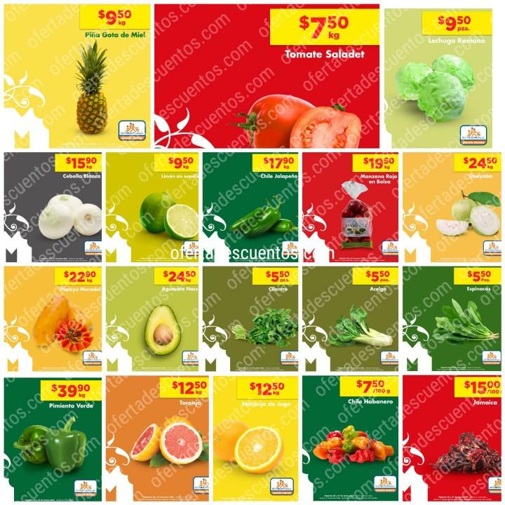 Chedraui: Ofertas en Frutas y Verduras MartiMiércoles 26 y 27 de Enero 2021