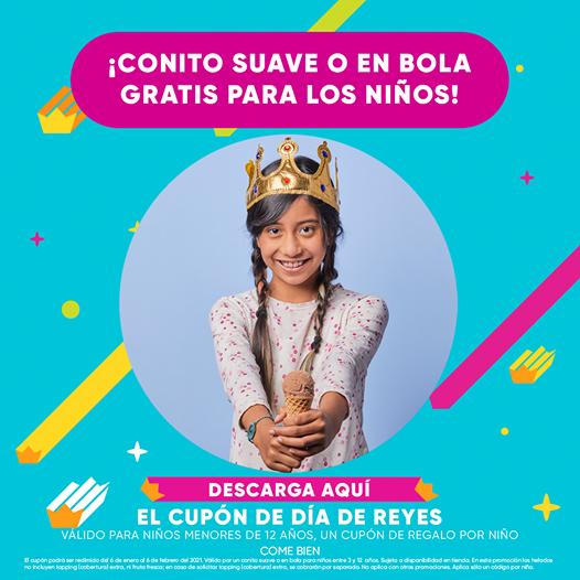 Nutrisa: Cupón de Día de Reyes Conito Gratis Hasta el 6 de Febrero 2021