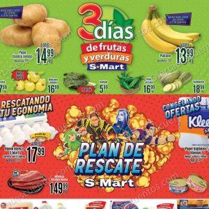 S-Mart: 3 Dias de Ofertas de Frutas y Verduras Hasta el 07 de Enero 2021