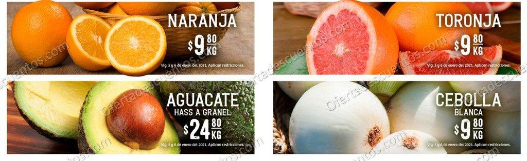 Soriana: Ofertas en Frutas y Verduras 5 y 6 de Enero 2021