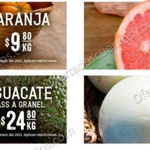 Soriana Super: Martes y Miércoles del Campo Ofertas en Frutas y Verduras 5 y 6 de Enero 2021