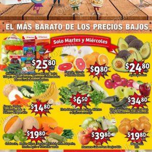 Soriana Mercado: Ofertas en Frutas y Verduras 5 y 6 de Enero 2021