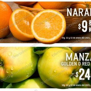 Soriana: Ofertas en Frutas y Verduras 12 y 13 de Enero 2021