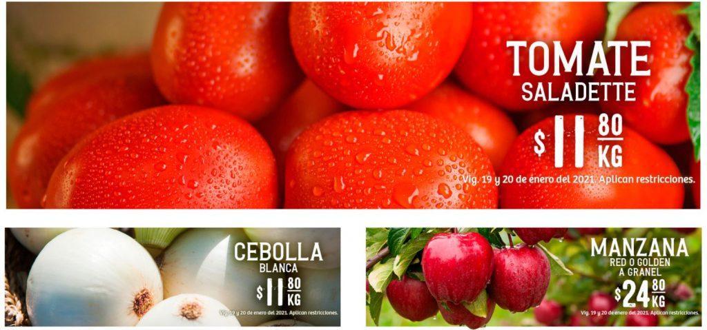 Soriana: Ofertas en Frutas y Verduras 19 y 20 de Enero 2021