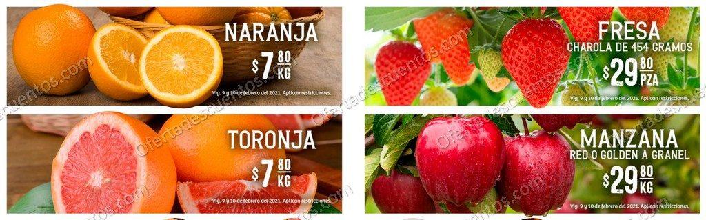 Soriana: Ofertas en Frutas y Verduras 9 y 10 de Febrero 2021