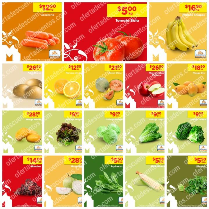 Chedraui: Ofertas en Frutas y Verduras 16 y 17 de Marzo 2021