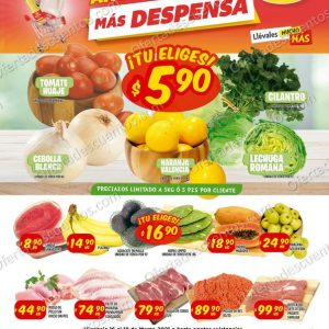 Mi Tienda del Ahorro: Ofertas en Frutas y Verduras del 16 al 18 de Marzo 2021