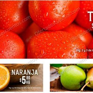 Soriana: Ofertas en Frutas y Verduras 2 y 3 de Marzo 2021