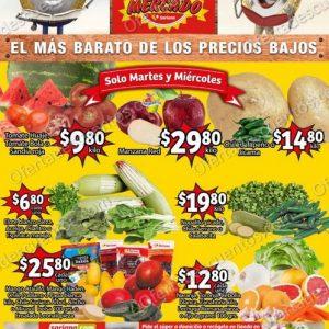 Soriana Mercado: Ofertas en Frutas y Verduras 23 y 24 de Marzo 2021