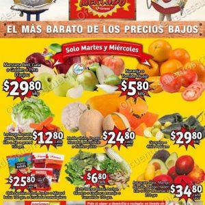 Soriana Mercado: Ofertas en Frutas y Verduras 2 y 3 de Marzo 2021