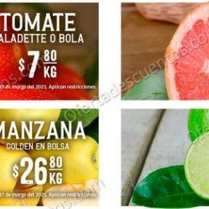 Soriana: Ofertas en Frutas y Verduras 16 y 17 de Marzo 2021