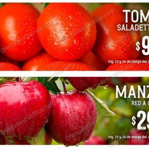 Soriana: Ofertas en Frutas y Verduras 23 y 24 de Marzo 2021