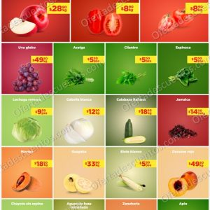 Ofertas en Frutas y Verduras MartiMiércoles de Chedraui 20 y 21 de Abril 2021
