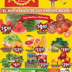 Soriana Mercado: Ofertas en Frutas y Verduras 20 y 21 de Abril 2021