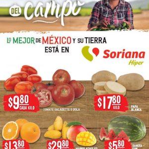 Soriana: Ofertas en Frutas y Verduras 20 y 21 de Abril 2021