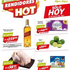 Días Rendidores Hot Soriana Solo 23 de Mayo 2021