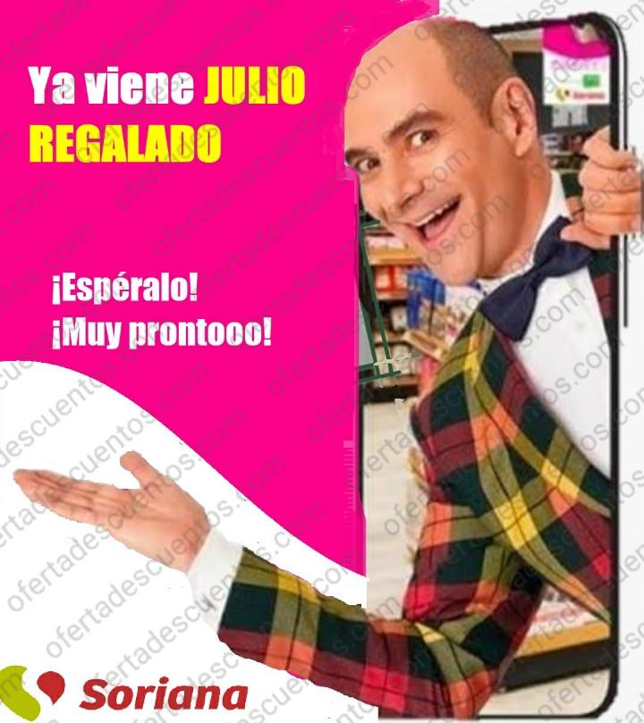 Julio Regalado 2021 en Soriana: Fechas Oficiales