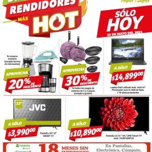 Ofertas Días Rendidores Hot Soriana 25 de Mayo 2021