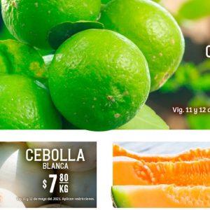 Soriana Hiper: Ofertas en Frutas y Verduras 11 y 12 de Mayo 2021