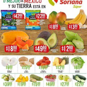 Soriana Super: Ofertas en Frutas y Verduras 18 y 19 de Mayo 2021