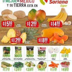 Soriana Super: Ofertas en Frutas y Verduras 25 y 26 de Mayo 2021