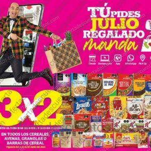 Julio Regalado 2021 Soriana: 3×2 en Todos Yoghurts, Cereales, Avenas, Granolas y Barras de Cereal