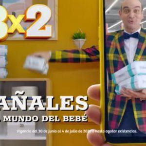 Oferta Estelar Julio Regalado 2021 Soriana: 3×2 en Pañales y Todo Para Bebés