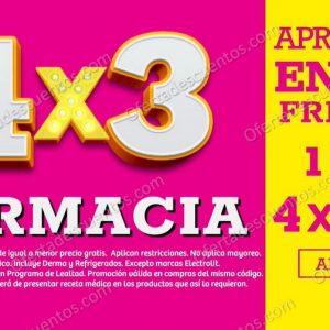 Oferta Estelar Julio Regalado 2021 Soriana: 4×3 en Toda la Farmacia