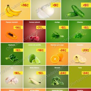 Ofertas en Frutas y Verduras Chedraui 29 y 30 de Junio 2021