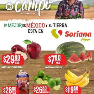 Soriana: Ofertas en Frutas y Verduras 15 y 16 de Junio 2021